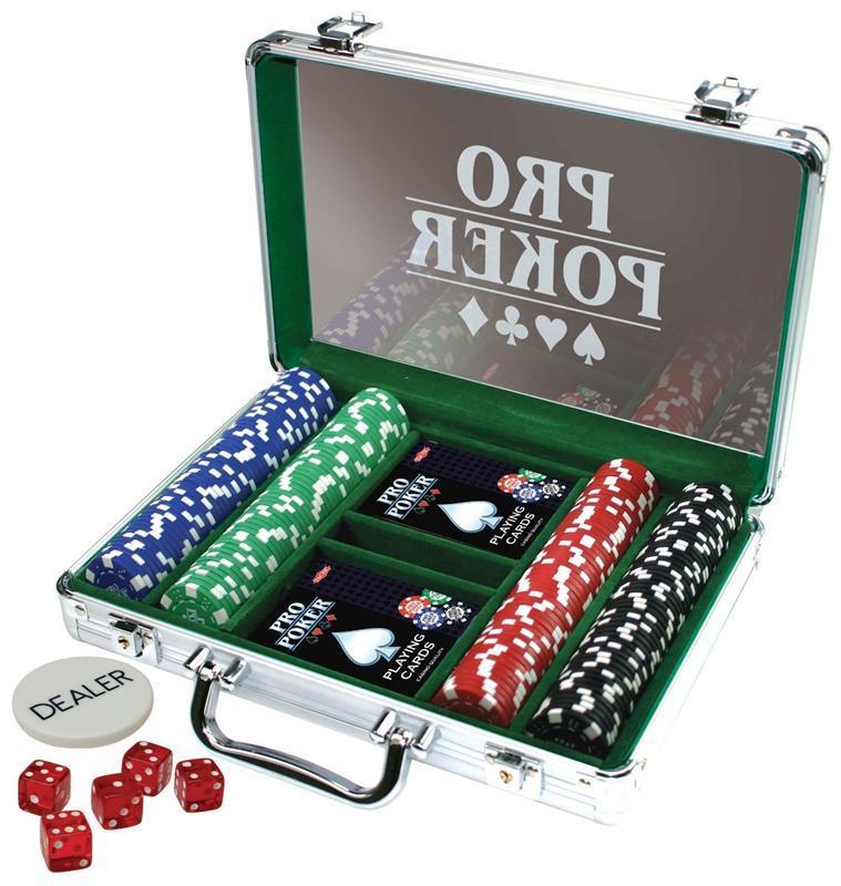 Покерный набор PRO POKER Tactic 200 фишек