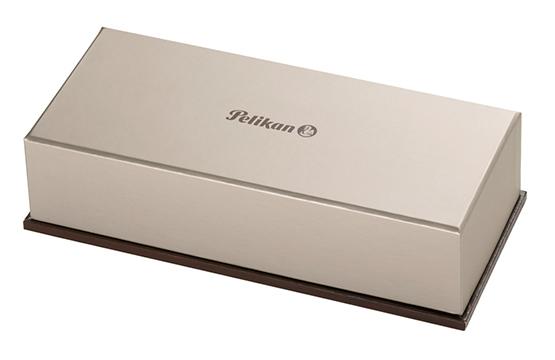 Pelikan Souveraen - Black and Green GT, перьевая ручка, M
