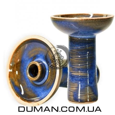 Чаша Gusto Bowls Classic Phunell Glaze II (Густо Болс Фаннел) Синий с зеленым