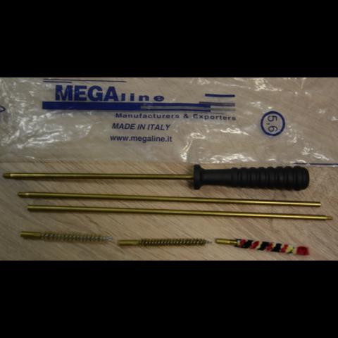 Набор для чистки 5,6 мм в пакете (MegaLine)