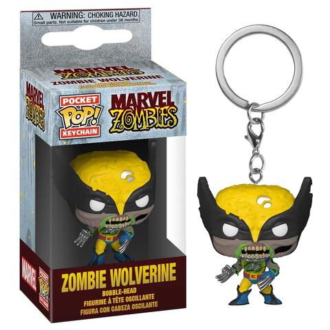 Брелок Funko POP! Keychain Marvel Zombie: Wolverine