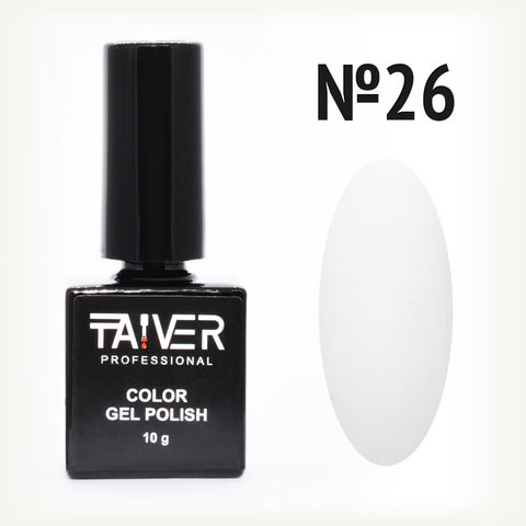 Гель-лак TAIVER 26 Белый