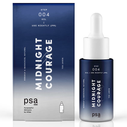 Сыворотка для лица PSA Midnight Courage Rosehip & Bakuchiol Night Oil 15 мл