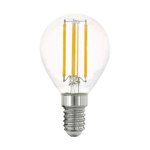Лампа LED филаментная прозрачная Eglo CLEAR LM-LED-E14 4W 470Lm 2700K P45 11761