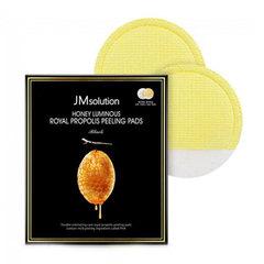 JMsolution Honey Luminous Royal Propolis Peeling Pads - Пилинг-пэды с экстрактом прополиса