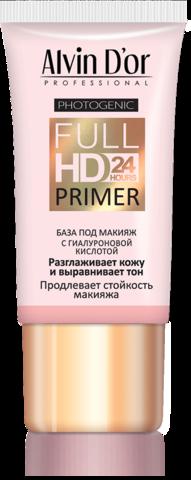 Alvin D`or  SP-02 База под макияж Full Hd primer 24hours (розовая) 25мл
