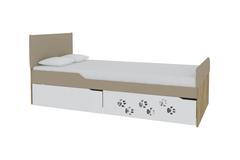 Кровать Хаски №3 с мягкими спинками