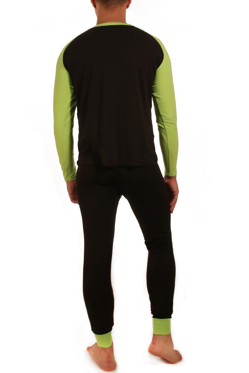 Комплект кальсоны + футболка мужские из модала, Wang Jiang, арт.27012016-22
