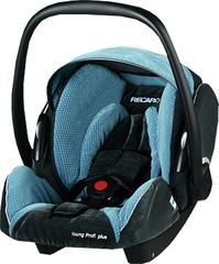 Детское кресло RECARO Young Profi plus (материал верха Topline Microfibre Grey/Petrol)