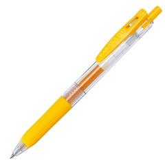 Ручка гелевая Zebra Sarasa Clip 0.7 Yellow - жёлтый