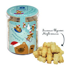 Поиграй и съешь «Зимние медвежата» детское печенье