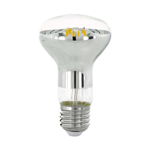 Лампа LED филаментная диммир. прозрачная Eglo CLEAR LM-LED-E27 6W 470Lm 2700K R63 11763