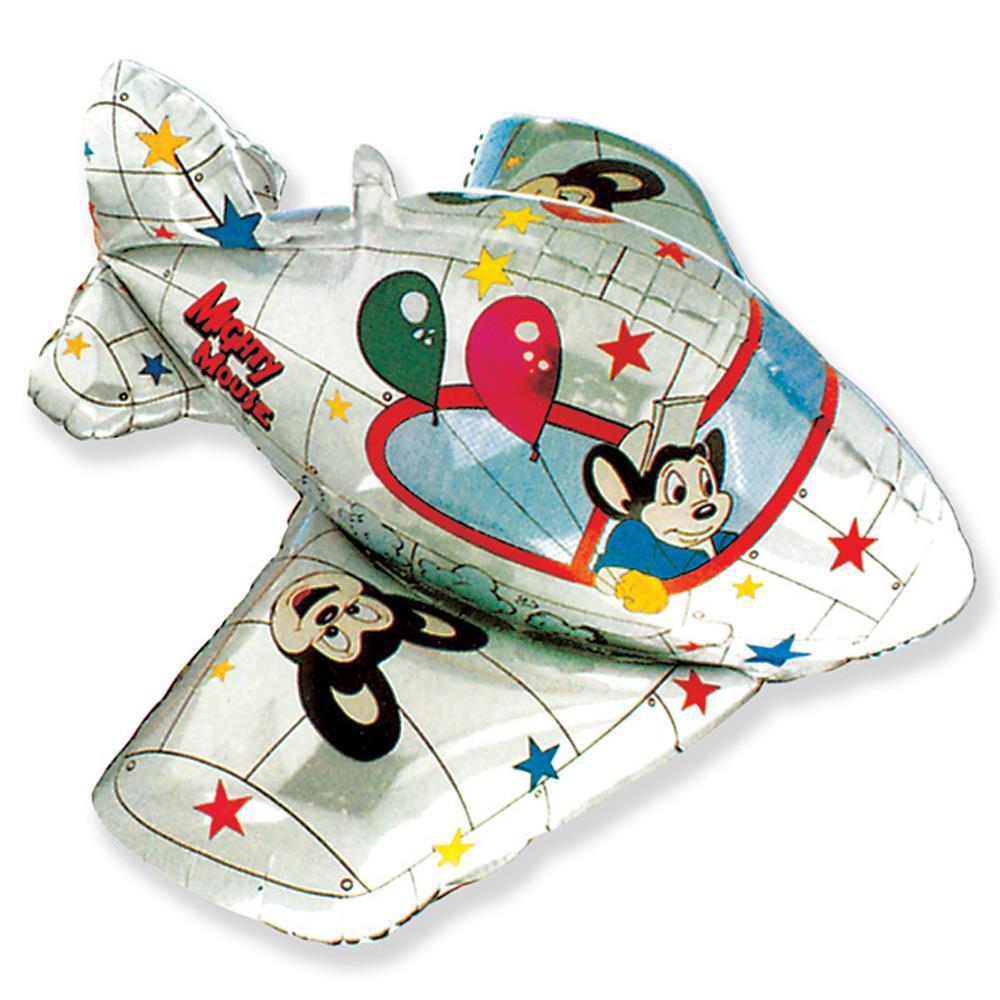 3D Шары Фольгированный шар Самолет 3Д aviao3d.jpg