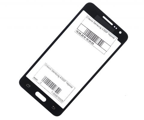 Стекло Samsung A300F Черное