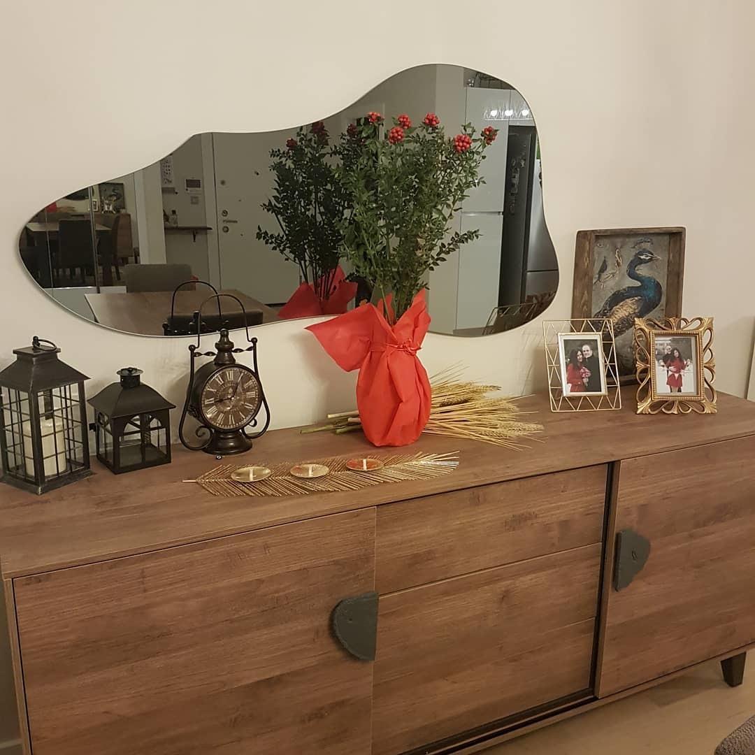 Буфет ORLANDO (гостиная) Орех и зеркало ORLANDO орех