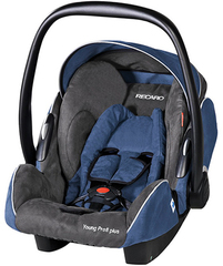 Детское кресло RECARO Young Profi plus (материал верха Trendline Bellini Shadow/Blue)