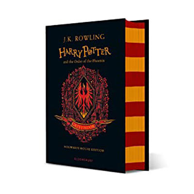 Harry potter and the order of the phoenix - gryffindor edition + gryffindor a6 notebook: gryffindor notebook pre-order offer