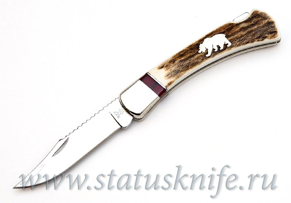 Нож BUCK 0110EKSLE4-B Grizzly Bear Hunter LTD
