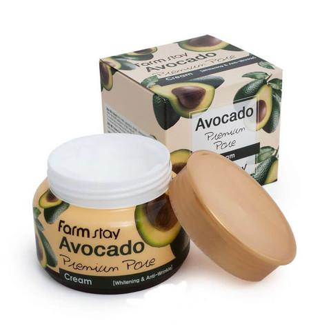 Лифтинг-крем с экстрактом авокадо FarmStay Avocado Premium Pore Creamm, 100 ml