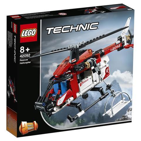 LEGO Technic: Спасательный вертолет 42092 — Rescue Helicopter — Лего Техник