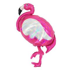 Y Фигура 95 Фламинго голография 60см Х 100см