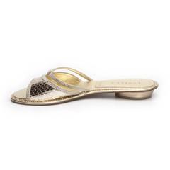 Шлепанцы Lesilla 14682 Золотой