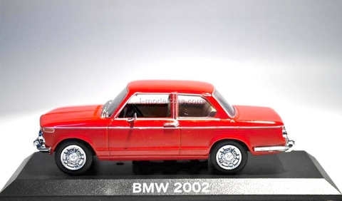 BMW 2002 red 1:43 DeAgostini Masini de legenda #73