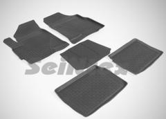 Резиновые коврики для CHERY TIGGO-III, высокий борт