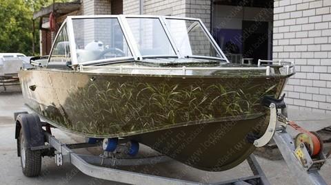 Рейлинги носовой части лодки Прогресс 4
