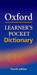 Oxford Learner's Pocket Dictionary: A pocket-sized reference to English vocabulary