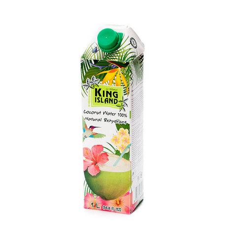 Вода кокосовая без сахара KING ISLAND, 1л