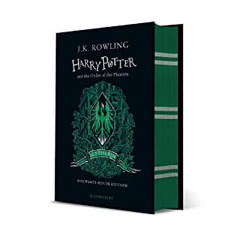 9781526618207 - Harry potter and the order of the phoenix - slytherin edition + slytherin a6 notebook: slytherin notebook pre-order offer