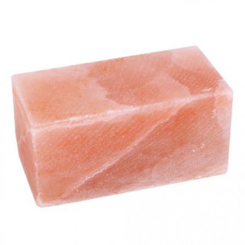 Блок из гималайской розовой соли 200x100x100 мм шлифованный