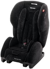 Детское кресло RECARO Young Expert plus (материал верха Topline Microfibre Black/Aquavit)