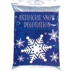 Снег Хлопья белый/перламутр 2,4 л.