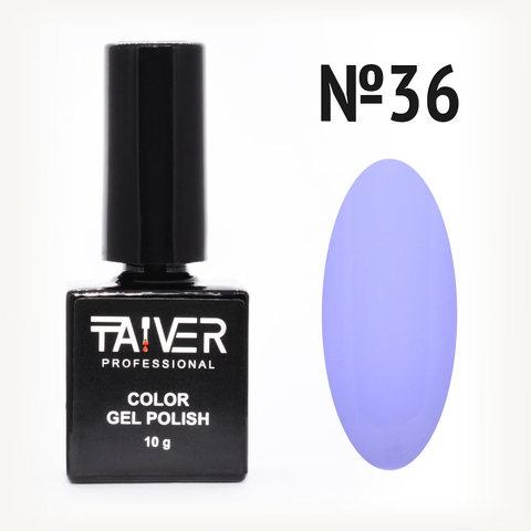 Гель-лак TAIVER 36