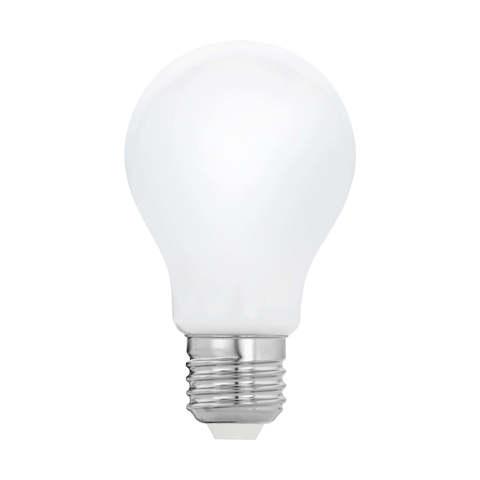 Лампа  LED филаментная из опалового стекла  Eglo MILKY LM-LED-E27 8W 1055Lm 2700K A60 11765