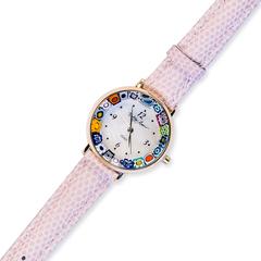 Розовые женские наручные час
