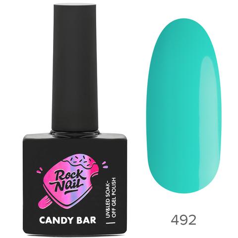 Гель-лак RockNail Candy Вar 492 Ice Cream At The Beach (Мороженое на пляже)