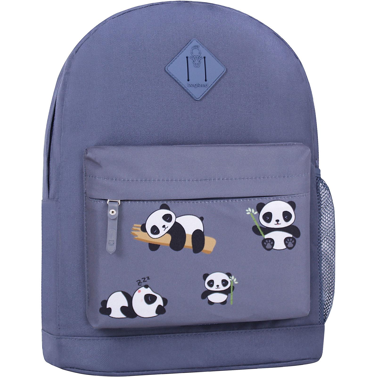 Городские рюкзаки Рюкзак Bagland Молодежный W/R 17 л. Серый 755 (00533662) IMG_6446_суб.755_.JPG