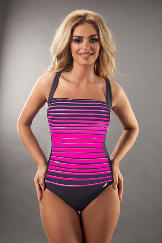 Купальник Estella new Graphite-Pink Verano