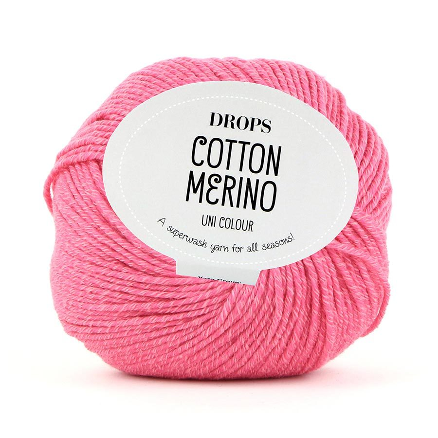 Пряжа Drops Cotton Merino 13 коралл