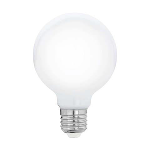 Лампа  LED филаментная из опалового стекла  Eglo MILKY LM-LED-E27 8W 1055Lm 2700K G80 11766