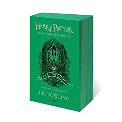 Harry potter and the order of the phoenix - slytherin edition + slytherin a6 notebook: slytherin notebook pre-order offer