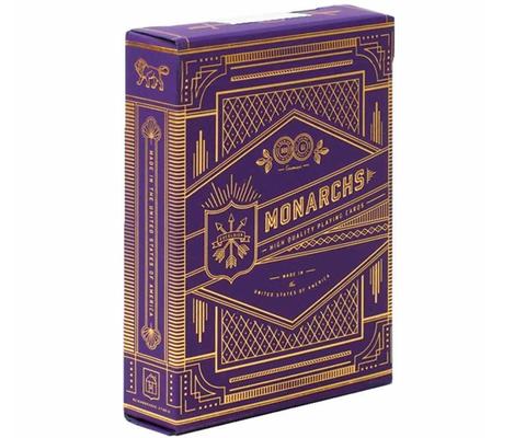 Карты Purple Monarchs от Theory11