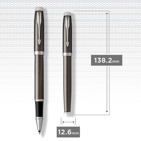 Ручка роллер Parker IM Metal Core Dark Espresso CT123