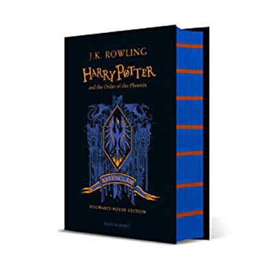 Harry potter and the order of the phoenix - ravenclaw edition + ravenclaw a6 pack: ravenclaw notebook pre-order offer