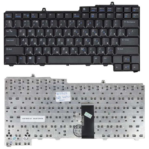 Клавиатура Dell 6400 Inspiron Black