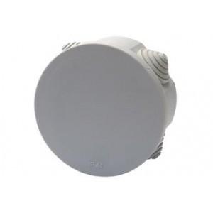 Расп. коробка с крышкой D85х40мм IP54, 4вх. TDM