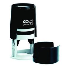 Оснастка для печати круглая Colop Printer R40 40 мм с крышкой черная